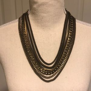 Free People Multi Chain Necklace